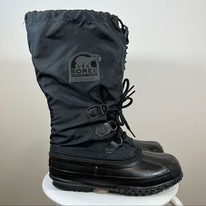 Vintage 90s Sorel Boots Women's Size Snowlion US8 Made in Canada